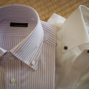 伊勢丹オーダーワイシャツのタグの色