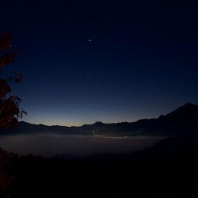 11月は雲海が観れるチャンス