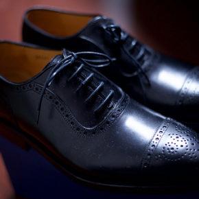革靴を新調する